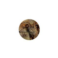 Vintage owl 1  Mini Magnets