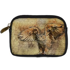 Vintage owl Digital Camera Cases
