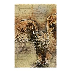 Vintage owl Shower Curtain 48  x 72  (Small)