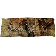 Vintage owl Body Pillow Case Dakimakura (Two Sides)