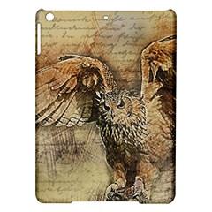 Vintage owl iPad Air Hardshell Cases