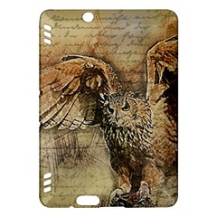 Vintage owl Kindle Fire HDX Hardshell Case