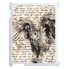 Vintage owl Apple iPad 2 Case (White)