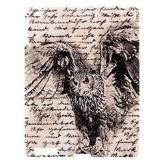 Vintage owl Apple iPad 3/4 Hardshell Case