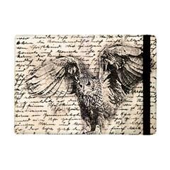 Vintage owl Apple iPad Mini Flip Case