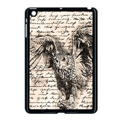 Vintage owl Apple iPad Mini Case (Black)