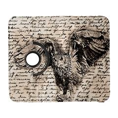 Vintage owl Galaxy S3 (Flip/Folio)