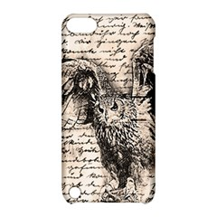 Vintage owl Apple iPod Touch 5 Hardshell Case with Stand