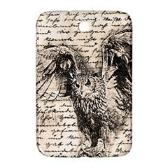 Vintage owl Samsung Galaxy Note 8.0 N5100 Hardshell Case