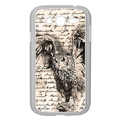 Vintage owl Samsung Galaxy Grand DUOS I9082 Case (White)
