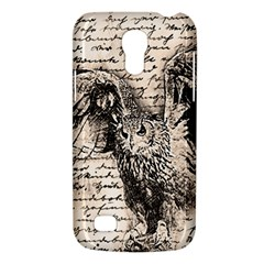 Vintage owl Galaxy S4 Mini