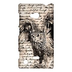 Vintage owl Nokia Lumia 720