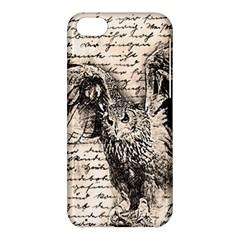 Vintage owl Apple iPhone 5C Hardshell Case