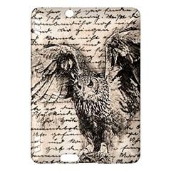 Vintage owl Kindle Fire HDX Hardshell Case