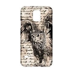 Vintage owl Samsung Galaxy S5 Hardshell Case