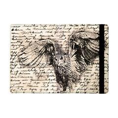 Vintage owl iPad Mini 2 Flip Cases