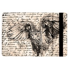 Vintage owl iPad Air Flip