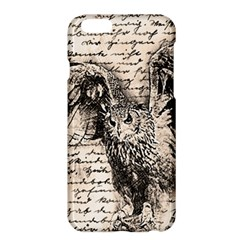 Vintage owl Apple iPhone 6 Plus/6S Plus Hardshell Case