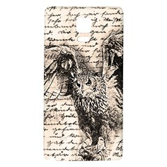 Vintage owl Galaxy Note 4 Back Case