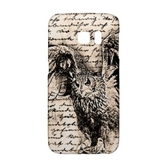Vintage owl Galaxy S6 Edge