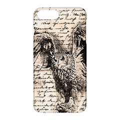 Vintage owl Apple iPhone 7 Plus Hardshell Case