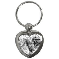 Vintage owl Key Chains (Heart)