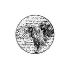 Vintage owl Hat Clip Ball Marker (10 pack)