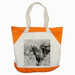 Vintage owl Accent Tote Bag