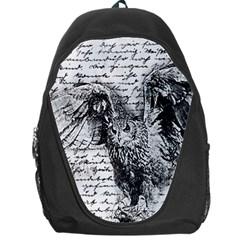 Vintage owl Backpack Bag