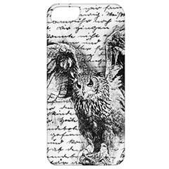 Vintage owl Apple iPhone 5 Classic Hardshell Case