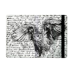 Vintage owl Apple iPad Mini Flip Case