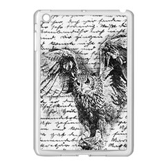 Vintage owl Apple iPad Mini Case (White)