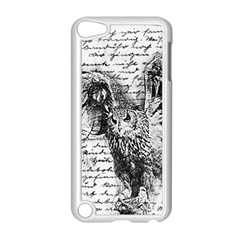 Vintage owl Apple iPod Touch 5 Case (White)