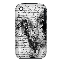 Vintage owl iPhone 3S/3GS