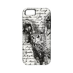 Vintage owl Apple iPhone 5 Classic Hardshell Case (PC+Silicone)