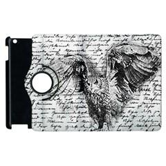 Vintage owl Apple iPad 3/4 Flip 360 Case