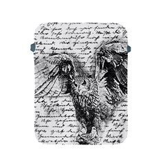 Vintage owl Apple iPad 2/3/4 Protective Soft Cases