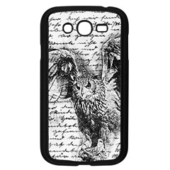 Vintage owl Samsung Galaxy Grand DUOS I9082 Case (Black)
