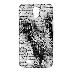 Vintage owl Samsung Galaxy Mega 6.3  I9200 Hardshell Case