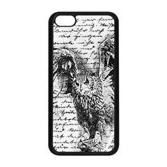 Vintage owl Apple iPhone 5C Seamless Case (Black)