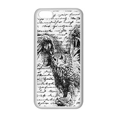Vintage owl Apple iPhone 5C Seamless Case (White)