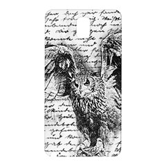 Vintage owl Samsung Galaxy Note 3 N9005 Hardshell Back Case