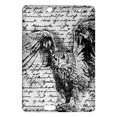 Vintage owl Amazon Kindle Fire HD (2013) Hardshell Case