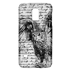 Vintage owl Galaxy S5 Mini