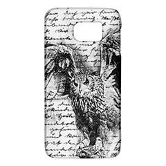 Vintage owl Galaxy S6