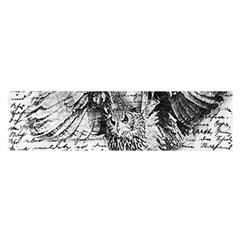 Vintage owl Satin Scarf (Oblong)