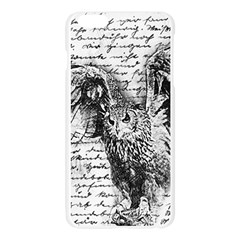 Vintage owl Apple Seamless iPhone 6 Plus/6S Plus Case (Transparent)