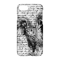 Vintage owl Apple iPhone 7 Hardshell Case