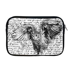 Vintage owl Apple MacBook Pro 17  Zipper Case