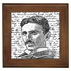 Nikola Tesla Framed Tiles